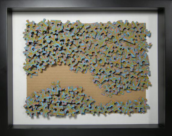 barbara lugge art 3d collage erosion